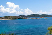 Diaporos islands Vourvourou, Halkidiki Greece